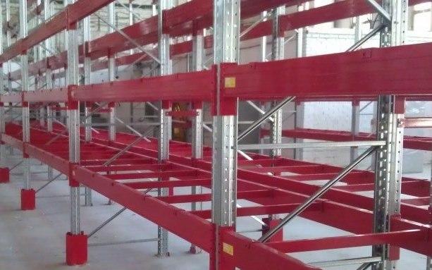Паллетные стеллажи 2400 кг на полку